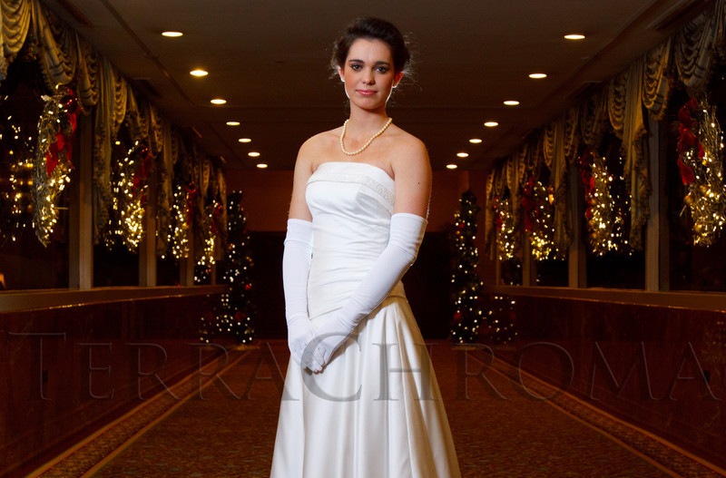 Brooke Perkins.  The 56th Annual Denver Debutante Ball at the Brown Palace Hotel & Spa in Denver, Colorado, on Thursday, Dec. 22, 2011.<br /> Photo Steve Peterson