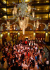 Brown Palace lobby.  The 56th Annual Denver Debutante Ball at the Brown Palace Hotel & Spa in Denver, Colorado, on Friday, Dec. 23, 2011.<br /> Photo Steve Peterson