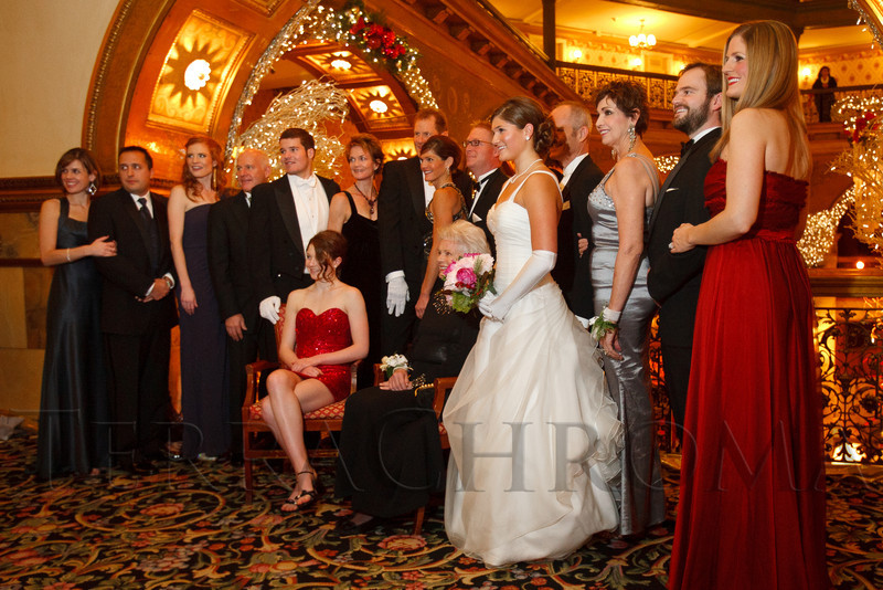 Madison (Maddie) Marie Vanderpoel's family photo.  The 56th Annual Denver Debutante Ball at the Brown Palace Hotel & Spa in Denver, Colorado, on Thursday, Dec. 22, 2011.<br /> Photo Steve Peterson