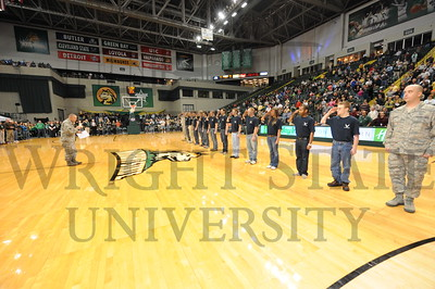 7536 Halftime Swearing in of Air Force Cadets 12-1-11