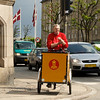 Danish mail delivery by bike