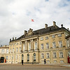 Amalienborg, the Queen's residence.