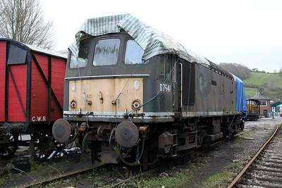 D7541 (25191) seen at Buckfastleigh on the South Devon Railway.
