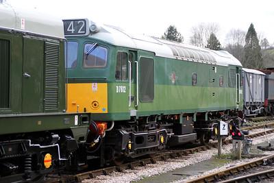 D7612 (25901) seen at Buckfastleigh on the South Devon Railway.