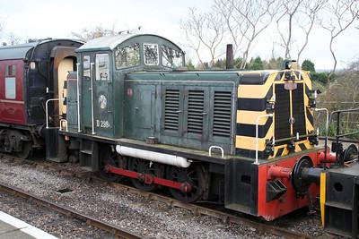 D2994 at Bitton on the Avon Valley Railway.