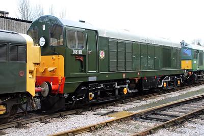D8110 (20110) seen at Buckfastleigh on the South Devon Railway.