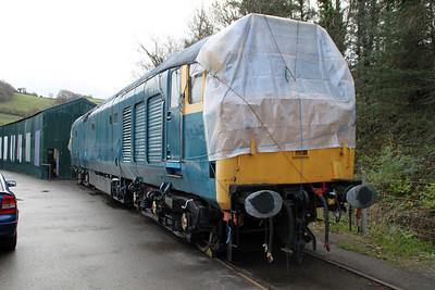 50002 seen at Buckfastleigh on the South Devon Railway.