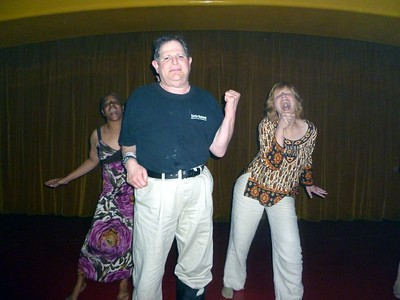 We even sang back-up to Jeff's kareoke of oldies!