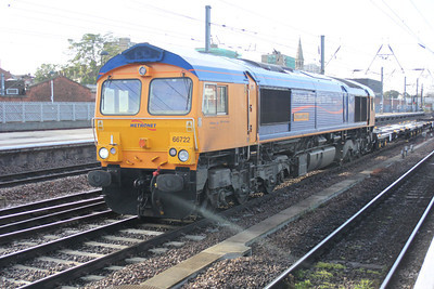 66722 at 0823 north to Selby with 1 wagon.