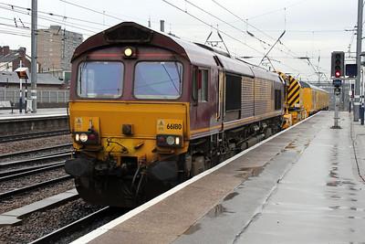 66180 1400-6Z99 Doncaster Decoy-Knottingley Breakdown Train
