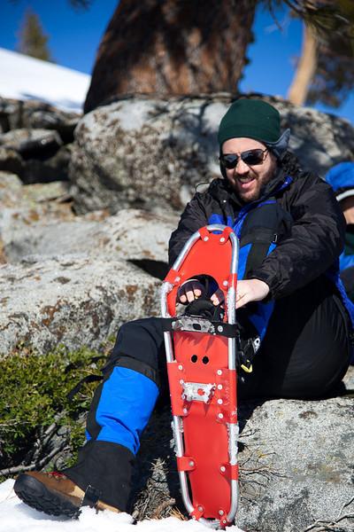 Eric's snowshoe