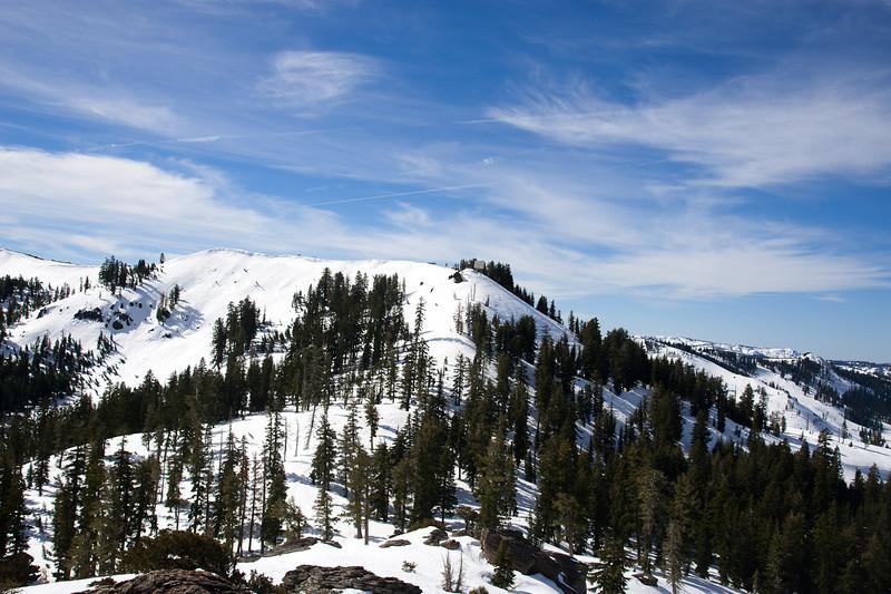 Ridge toward Mt. Judah