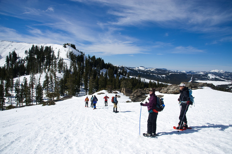 Descending from Donner Peak
