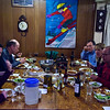 Dinner at the South Bay Ski Club's Lodge