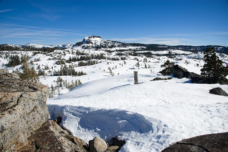 Snow and Devil's Peak