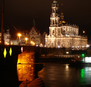 Elbe view Theaterkahn