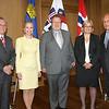 EFTA, Kare Bryn / Liechtenstein, Aurelia Frick / Iceland, Oessur Skarphédinsson / Norway, Rikke Lind / Switzerland Johann N. Schneider-Ammann