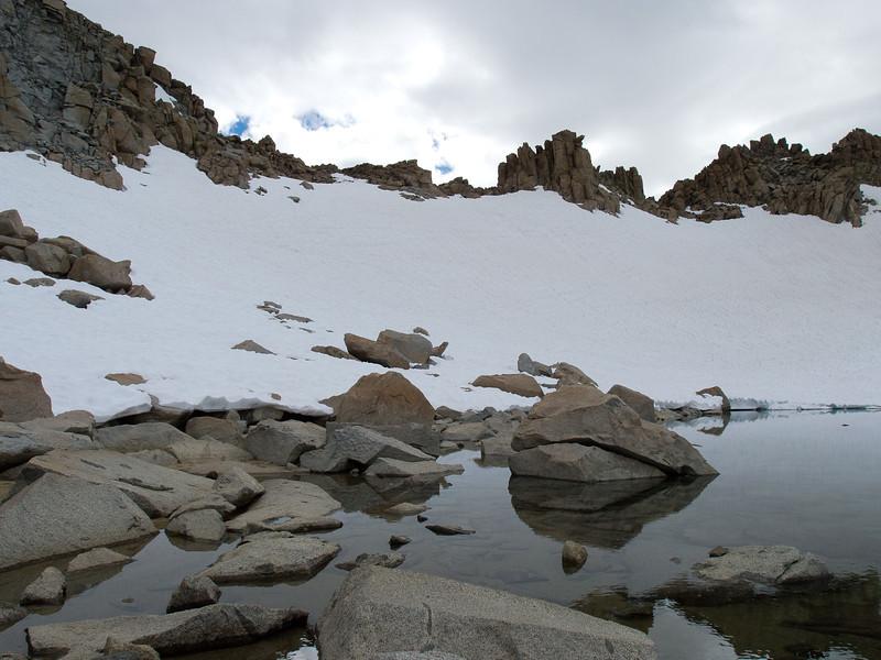 Lake below Lamarck Col