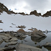 Lake below Lamarck Col