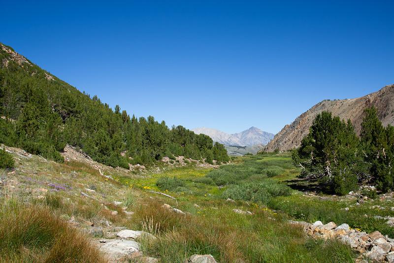 Green Lake valley