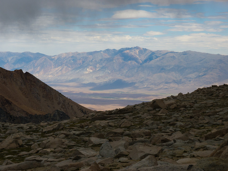 White Mountain Peak across the Owens Valley