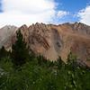 Mt. Emerson through the bushes