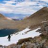 Lamarck Col eastward view