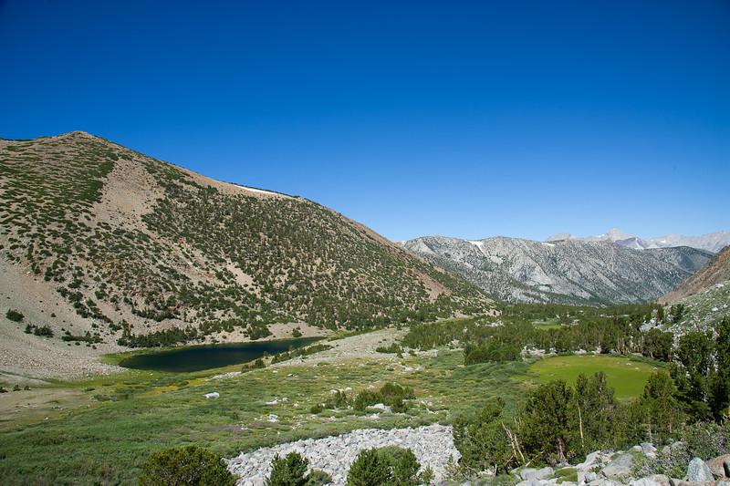 Brown Lake and drainage