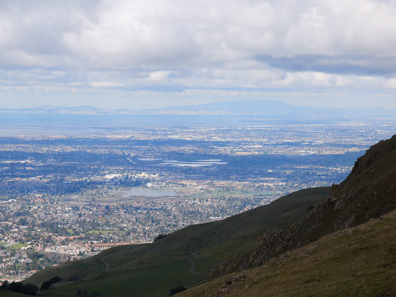 West side of Mission Peak