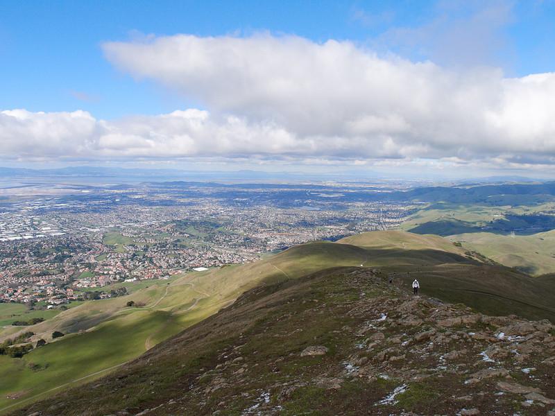Mission Peak ridge