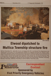 1st Responder Newspaper - November 2011