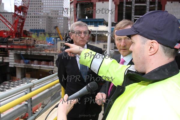 Taoiseach Enda Kenny at Ground zero