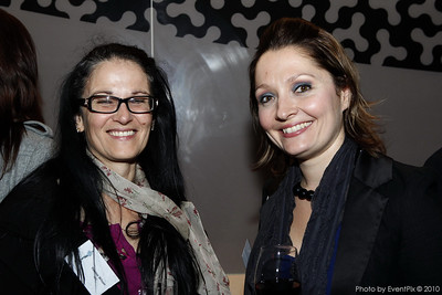 Yvonne Wilson (ISES), Rebecca Coomes (Epicure)