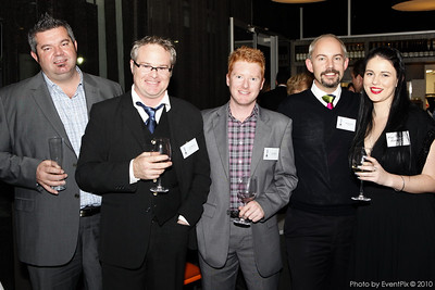 Joel Cooper (Harry the Hirer), Paul Mathers (ETF), Jason Balkir (Harry the Hirer), Michael Davey and Madi Fraser (Microhire)
