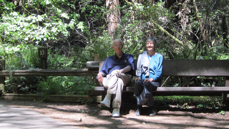 Dad and Mom at Muir Woods