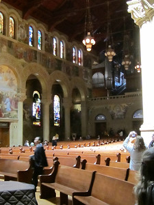 Interior of Stanford Memorial Church