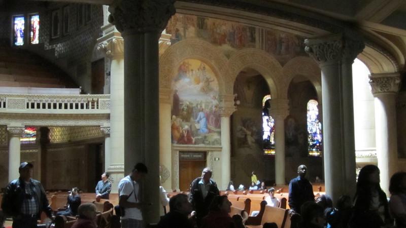 Interior of Stanford Memorial Church