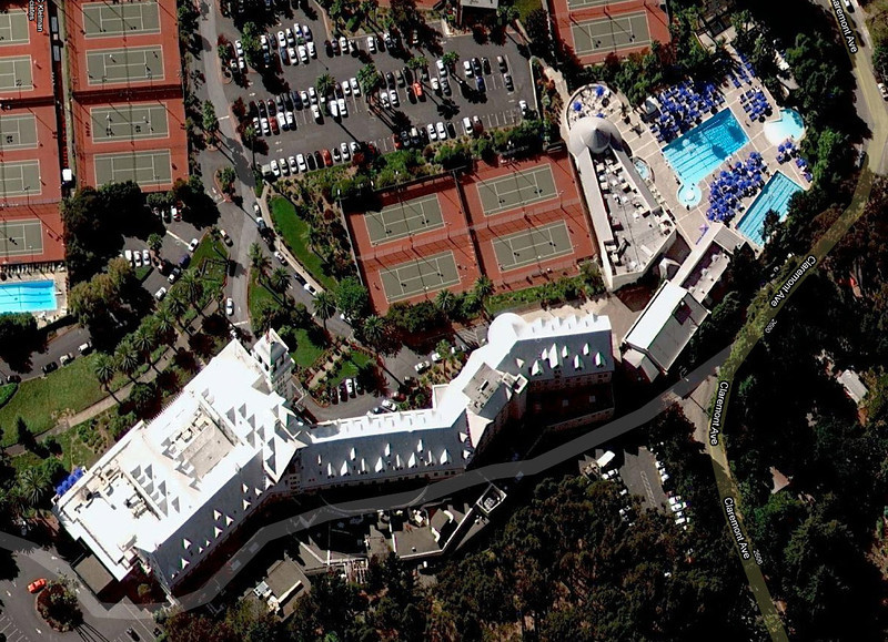 Claremont Resort in Berkeley (photo form Google Maps)