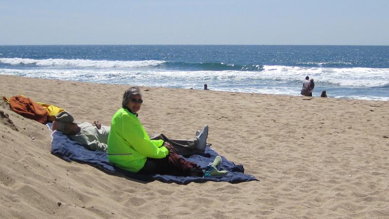 At the beach near Montara