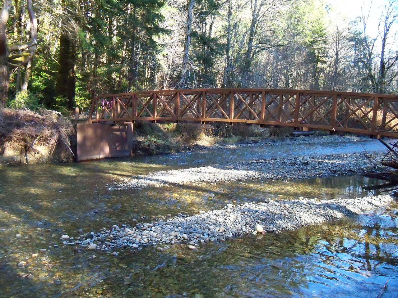 bridge at the Horse Camp... Needs a some fixing