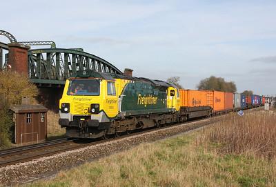 70003 Battledown 24/02/11 4O51 Wentloog to Southampton