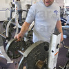 Tribune-Star/Jim Avelis<br /> Veteran: James Sanders is a vetreran of the Sullivan County weight loss program. Last year Sanders dropped thirty pounds, weighing 218 at the end of the program.