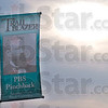 Tribune-Star/Rachel Keyes<br /> Leading The Way: America's first African American Governor PBS Pinckback is one of thirteen trail blazers honored with a banner along Wabash Ave.