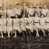 Tribune-Star/Jim Avelis<br /> Classmates: Ruth Underwood, front row, left, and the rest of her Pimento High School graduating class.