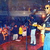 Tribune-Star submitted photo<br /> Afloat: Edward Holloman plays guitar in a band aboard a cruise ship.