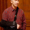 "Tribune-Star/Jim Avelis<br /> Trusting: Indiana governor Mitch Daniels held a brief press conference Tuesday afternoon, commenting on the absent Democrat legislators among other things. He said he trusted the missing members of the House to ""do the right thing""."