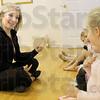 Teacher: Taylor Schaffer conducts a ballet class Tuesday afternoon at her mother's dance studio.