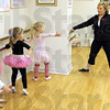 Princess: Taylor Schaffer conducts a dance class Tuesday afternoon. She's been selected as a 500 Princess for this year's Indianapolis 500.