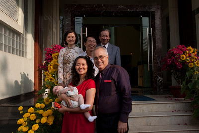 Family Portrait on Tet