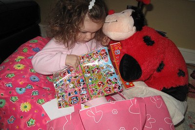 Pillow Pet, stickers and...